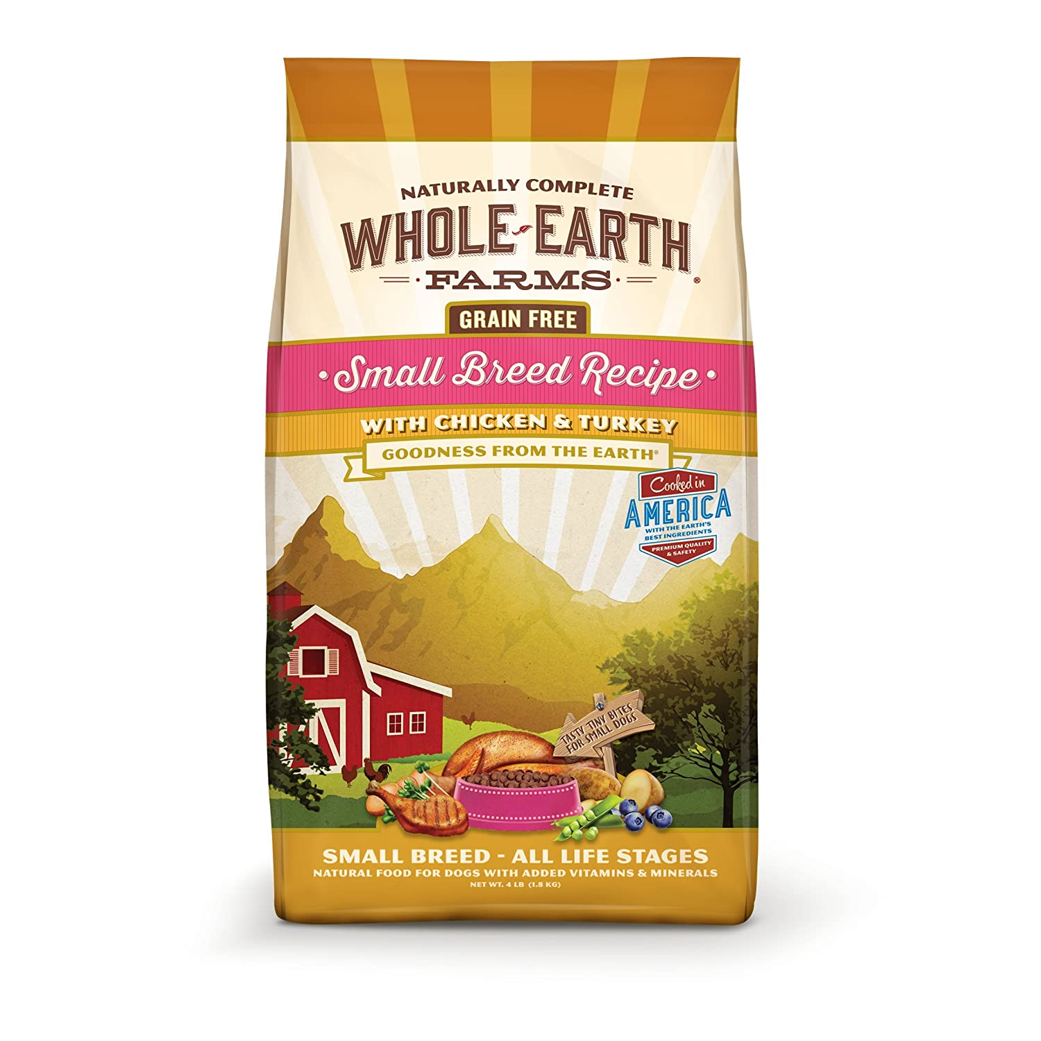 Whole Earth Farms Dog Food on.