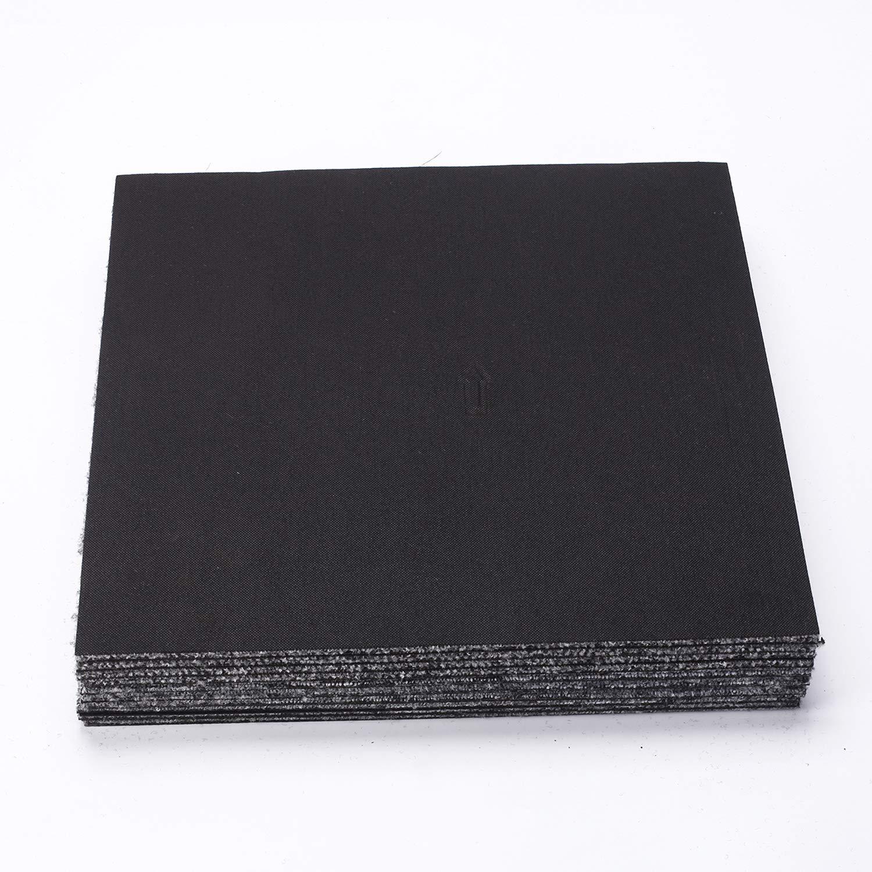 tcatec 50 x 50 cm 20 losetas autoadhesivas para moqueta