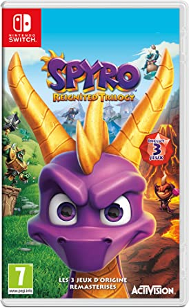 Spyro Reignited Trilogy (Switch) - Nintendo Switch [Importación ...