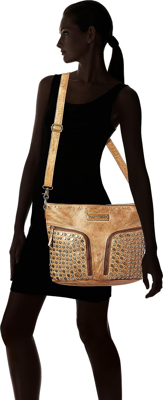 Taschendieb Damen Td0111ol Umhängetasche, Braun, 15 x 28 x 39 39 39 cm B071FD42CW Umhngetaschen b99f00