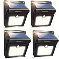 4-Pack Neloodony Solar Lights Outdoor Deals