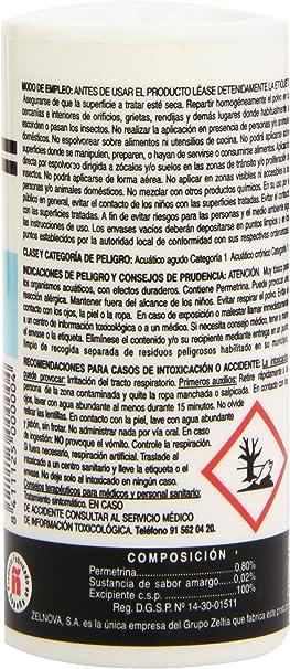ZZ - Polvo insecticida reforzado - Máxima eficacia sin olor ...