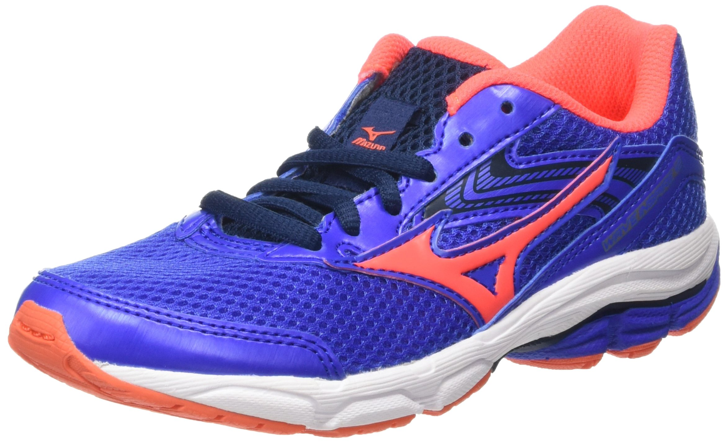 Mizuno AW16 Junior Wave Inspire 12 Running Shoes - Blue/Pink - UK 4