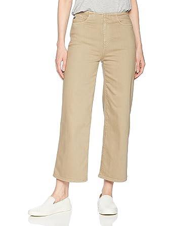 5bf9ff4260 AG Adriano Goldschmied Women's Etta High-Waisted Wide Leg Crop, Sulfur  Dried Patchouli,