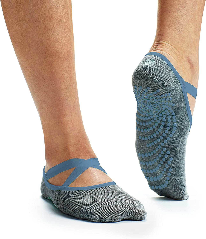 Myga secoués Yoga Chaussettes pour hommes et femmes-Non-slip anti-dérapant Barre Chaussettes