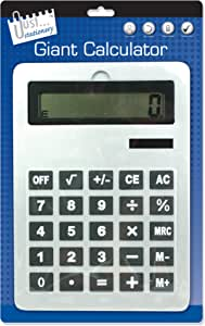 Giant Calculator Format A4 30 x 21 x 1 cm