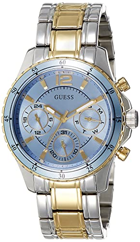 d72d0f607d6f Buy Guess Analog Blue Dial Women s Watch-W0639L1 Online at Low Prices in  India - Amazon.in