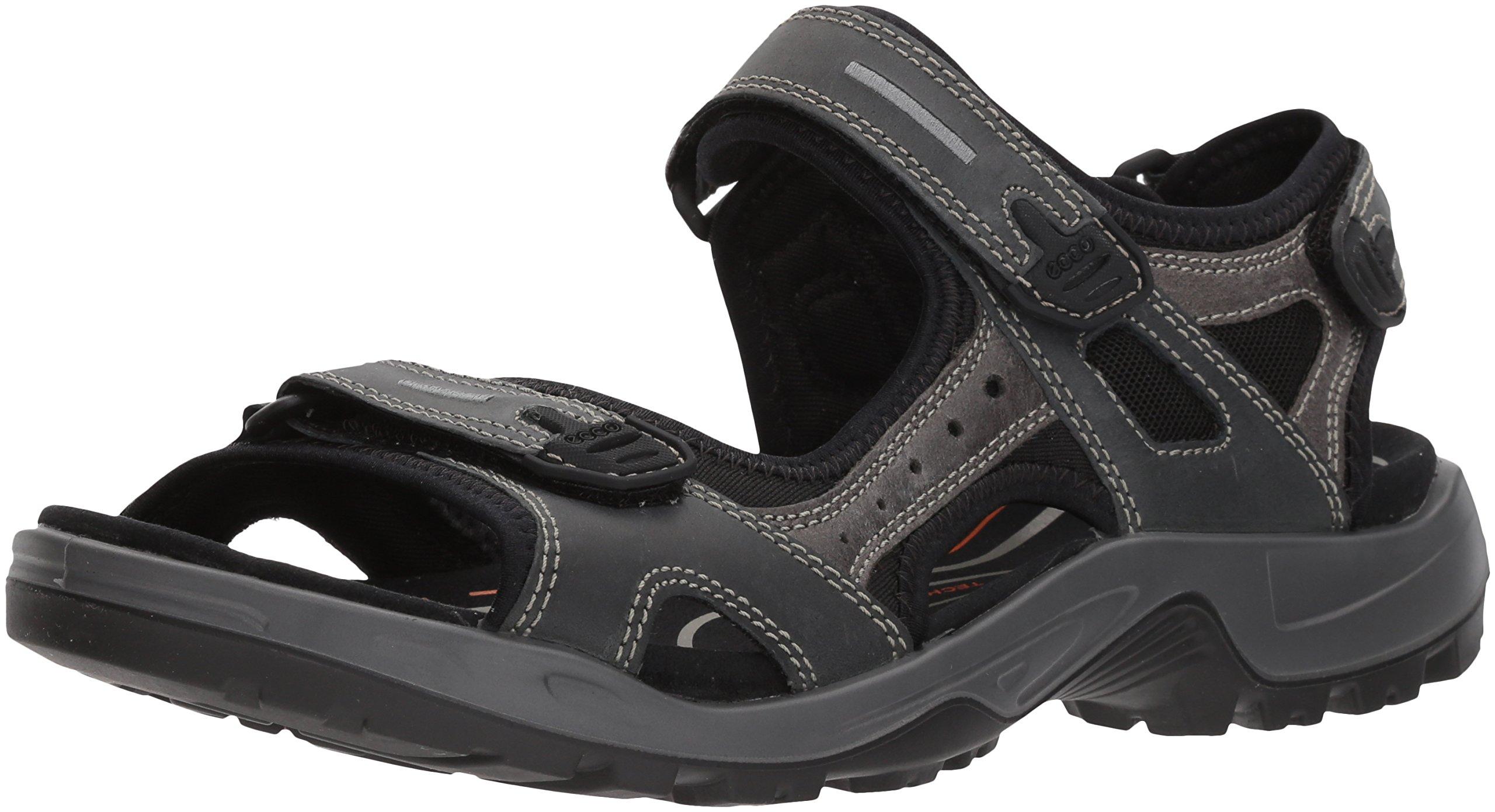 ECCO Men's Yucatan Athletic Sandal, Marine, 45 EU/11-11.5 M US