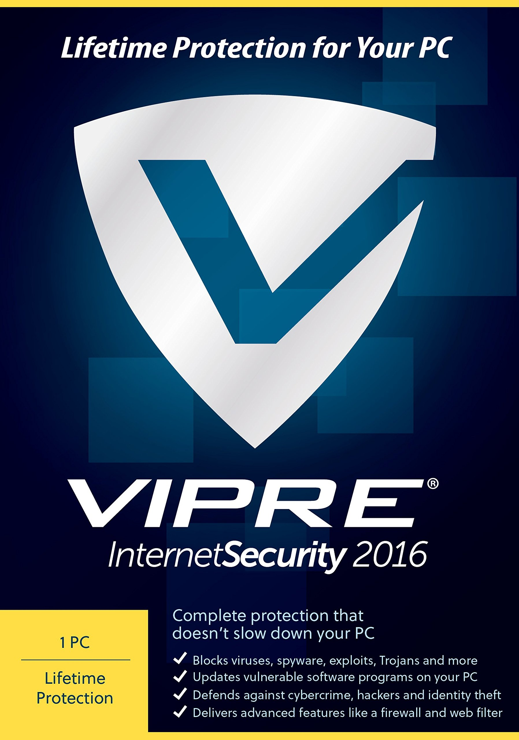 Amazon ThreatTrack Security VIPRE Internet Security 2016 PC Lifetime