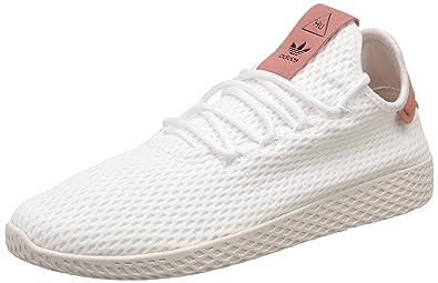 e096e592a7555 Adidas Pharrell Williams Tennis Hu Girls Sneakers White  Amazon.com ...