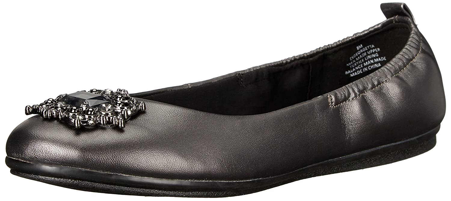 Easy Spirit 8 Women's Georgetta3 Flat B01DCXR7TI 8 Spirit B(M) US|Pewter/Pewter Synthetic f2ffac