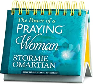 DaySpring - Stormie Omartian - The Power of a Praying Woman - Perpetual Calendar (10178),Blue