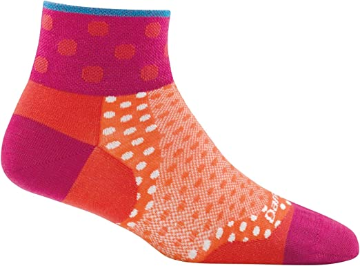 Darn Tough Vermont Womens Dot No Show Ultra Light Socks