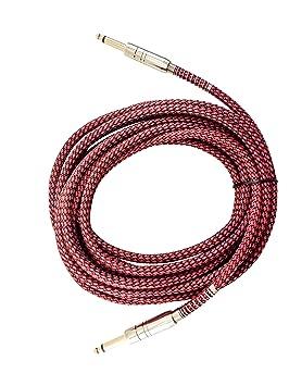 Cable de guitarra 6 m para guitarra eléctrica, acústica y bajo guitarras, violines,