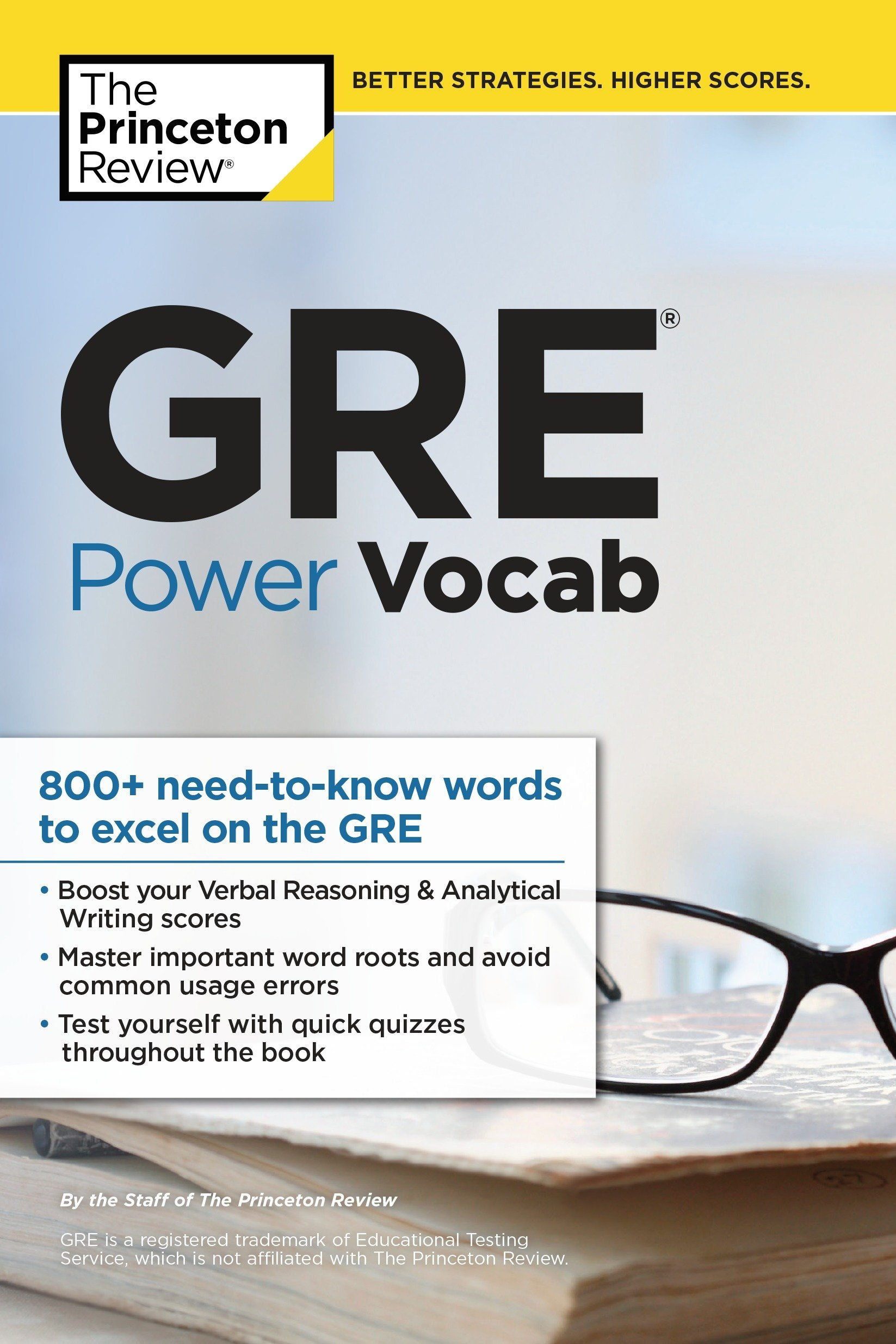 GRE Power Vocab (Graduate School Test Preparation): Amazon.in: Princeton  Review: Books
