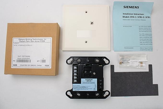 Siemens htri-r fuego alarma inteligente interfaz de una sola ...