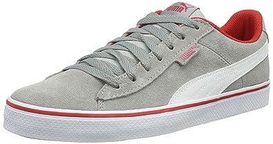 a76837c0a5ef6 Puma Unisex Kids  Puma 1948 Vulc Low-Top Sneakers Grey Size  5.5 ...