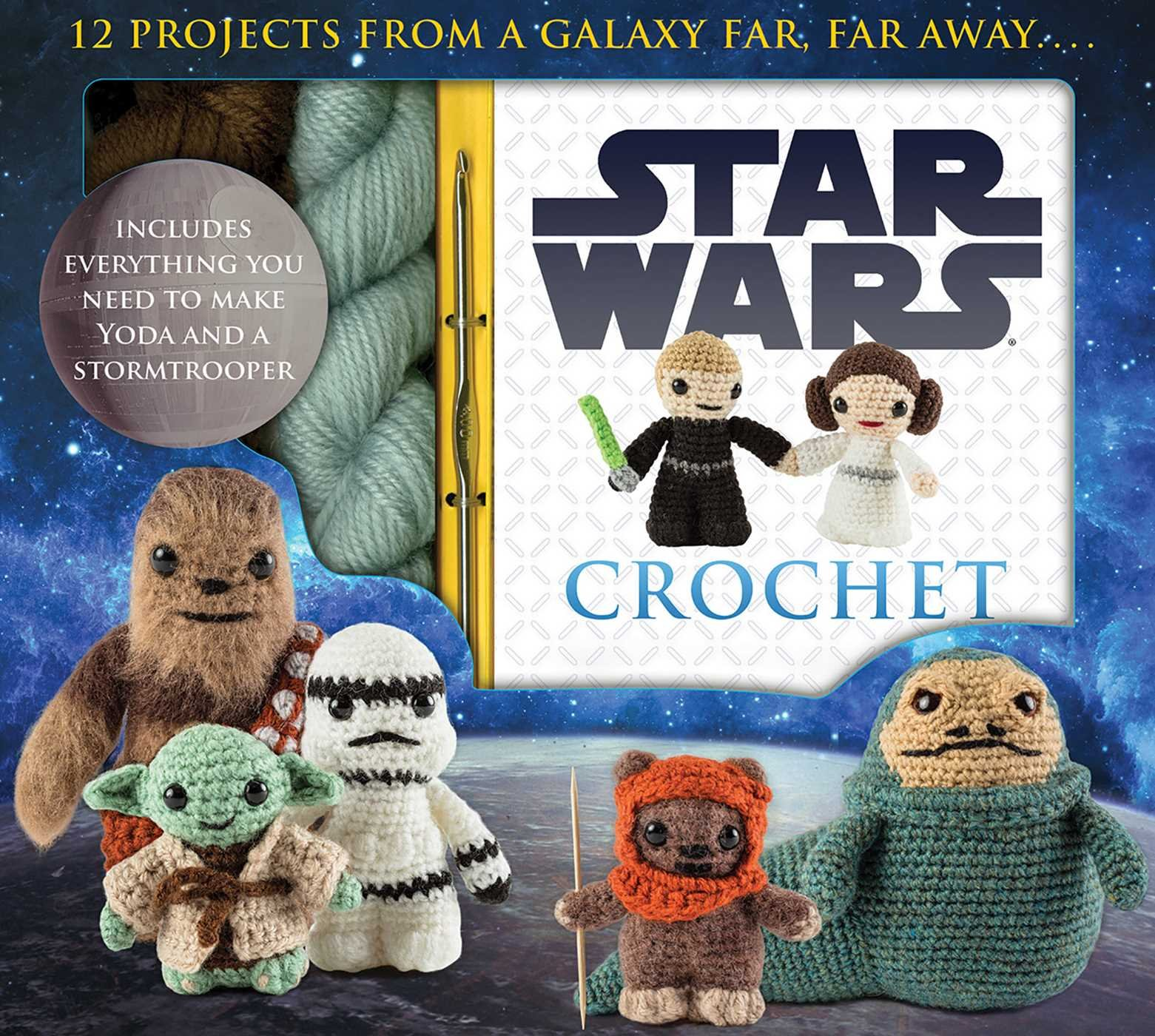 Star Wars Crochet (Crochet Kits): Lucy Collin: 9781626863262: Amazon ...