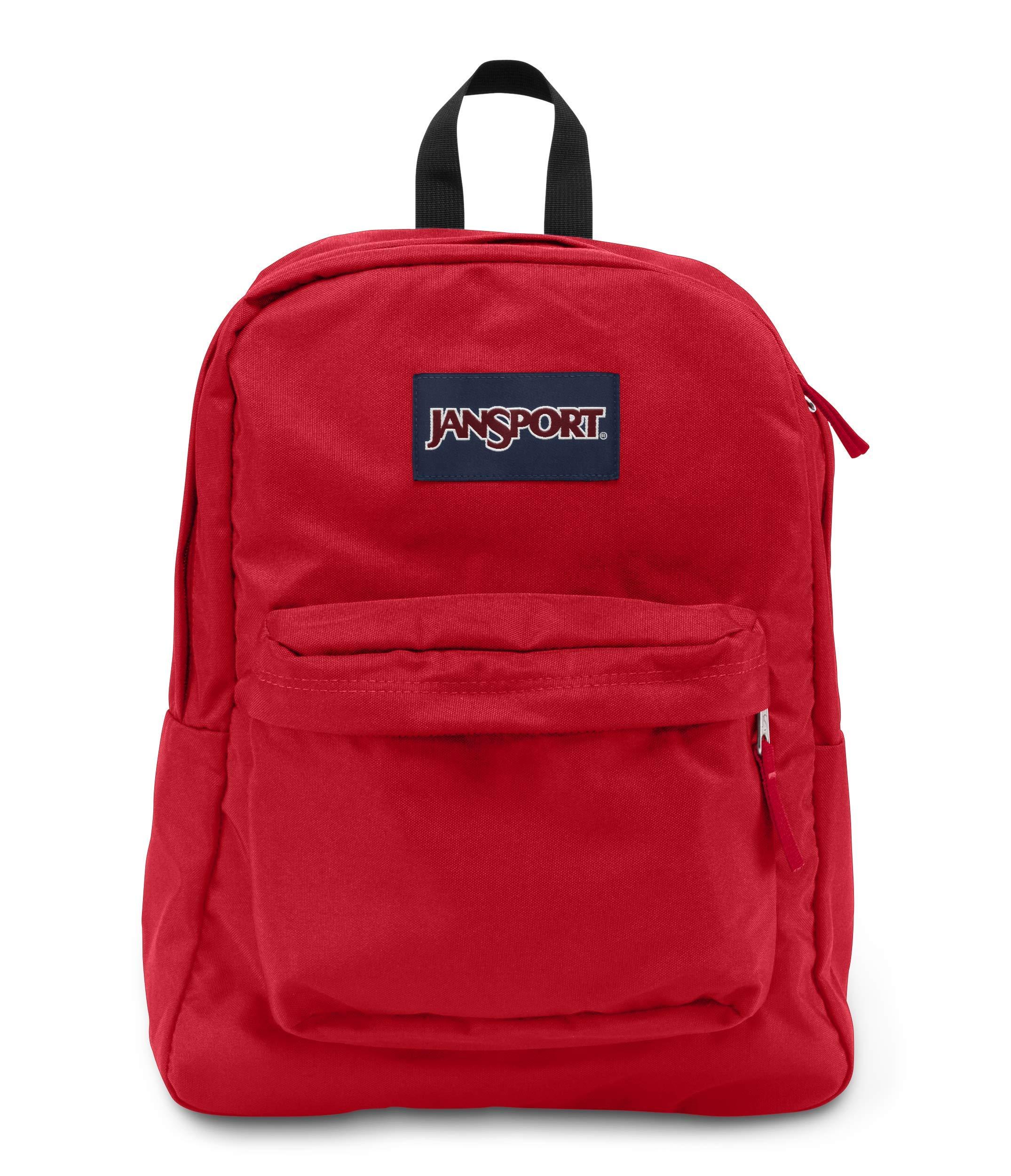 3866f94c65ae Jansport T501 Superbreak Backpack - Red Tape