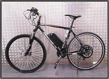 X-Cross Pedalease Yousave bicicleta eléctrica 48 V 1000 W Samsung celular 10.4ah batería LCD: Amazon.es: Deportes y aire libre