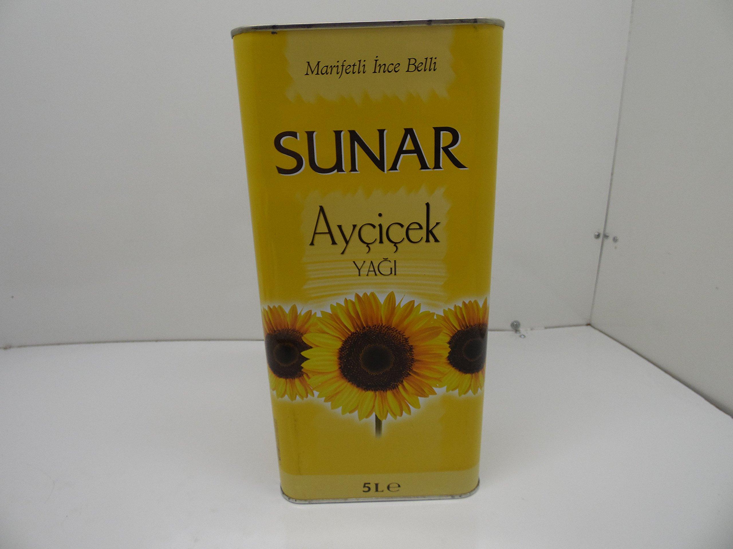 Sunar Turkish Sunflower Oil 5 lt (169 oz)