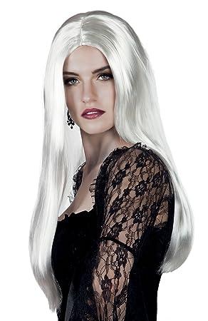 Boland 86098 peluca bruja blanco