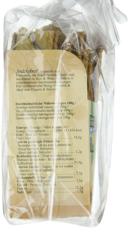 Bohlsener Mühle Snäckebrot y Panes Crujientes - 4 Paquetes de 200 gr - Total: 800 gr: Amazon.es: Alimentación y bebidas