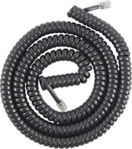 PowerGear 76139 Coil Cord (25 Feet, Black)