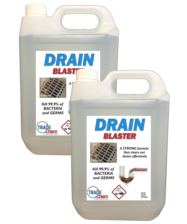 Limpiador y desatascador de drenaje y fregadero Drain Blaster, de ...