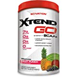 Scivation Xtend GO Amino Energy + BCAA Powder, Fruit Punch, 30 Servings