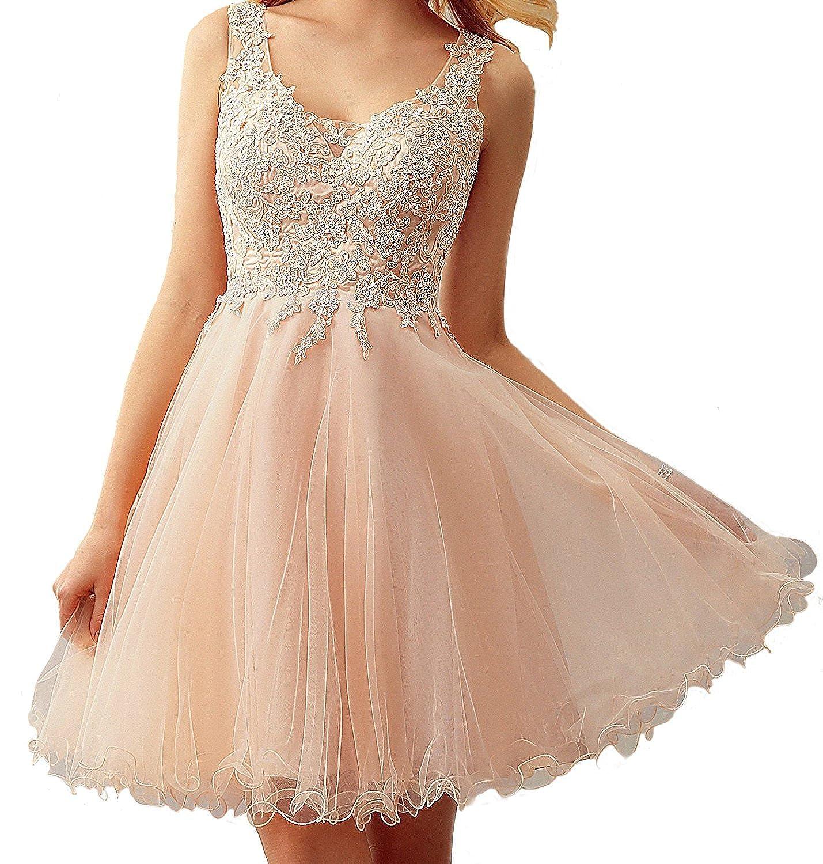 Carnivalprom Damen Chiffon Abendkleider Lange Elegant Hochzeitskleid Spitze Cocktailkleider