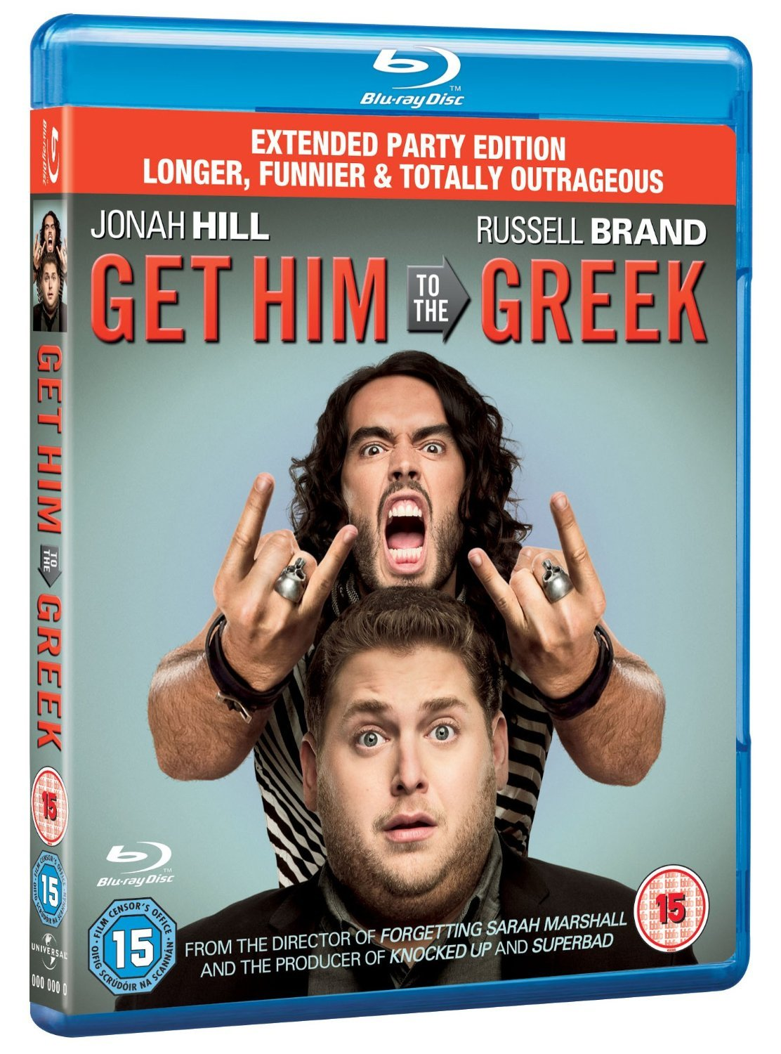 Get Him to the Greek - Extended Party Edition [Blu-ray]