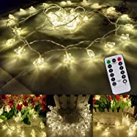 Apatner Christmas Star 16FT/5M 40Led Bedroom Fairy String Light
