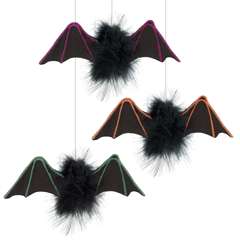 Amscan 241824 Little Bat Hanging Decorations One Size Multicolor