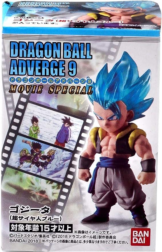 BANDAI DRAGON BALL Z Super ADVERGE 9 Mini Figure SS BROLY /& SSGSS Gogeta NEW