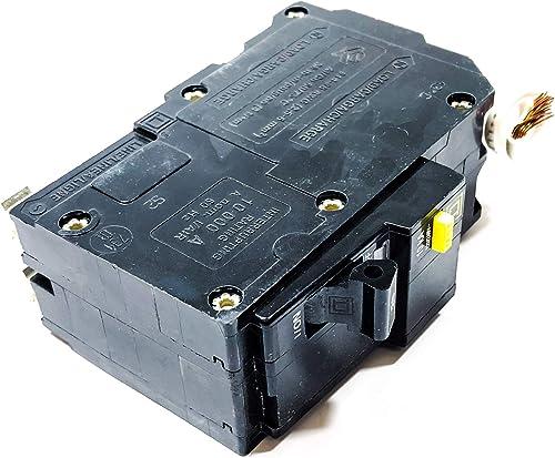 SCHNEIDER ELECTRIC Miniature Circuit Breaker 120 240-Volt 20-Amp QO220GFI Switch Fusible Hd 240V 1200A 3P Nema1