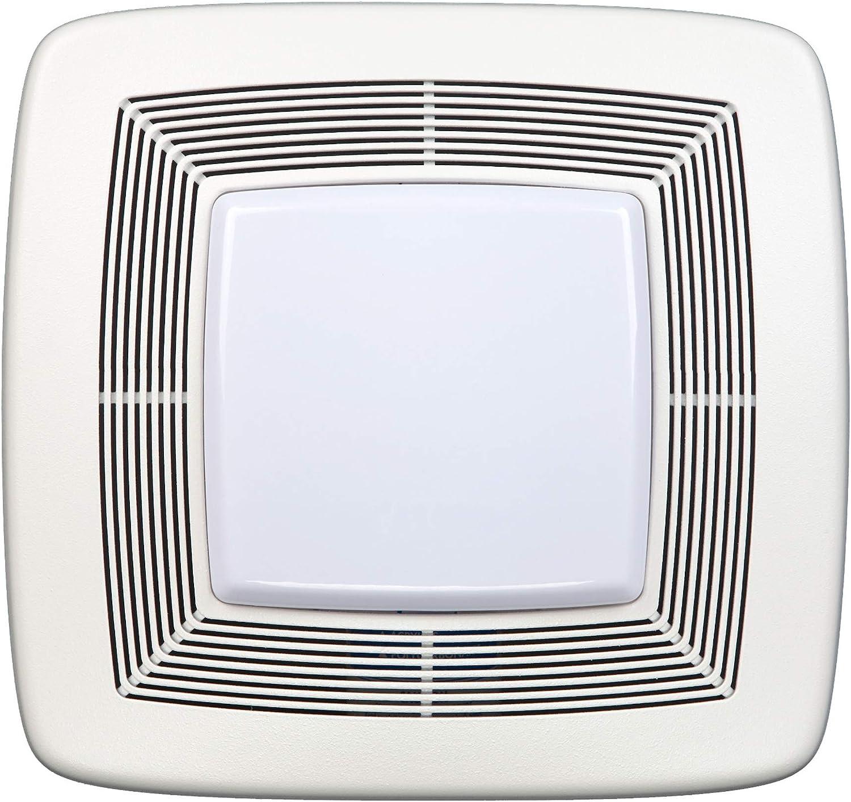 Broan Nutone Qtxe110flt Quiet Ventilation Fan Combo For Bathroom And Home Energy Star Certified 36 Fluorescent Light 4 Watt Nightlight 110 Cfm White Built In Household Ventilation Fans Amazon Com