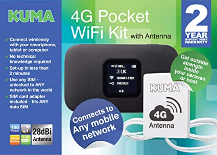 KUMA Wifi Booster with Router Kit 4G