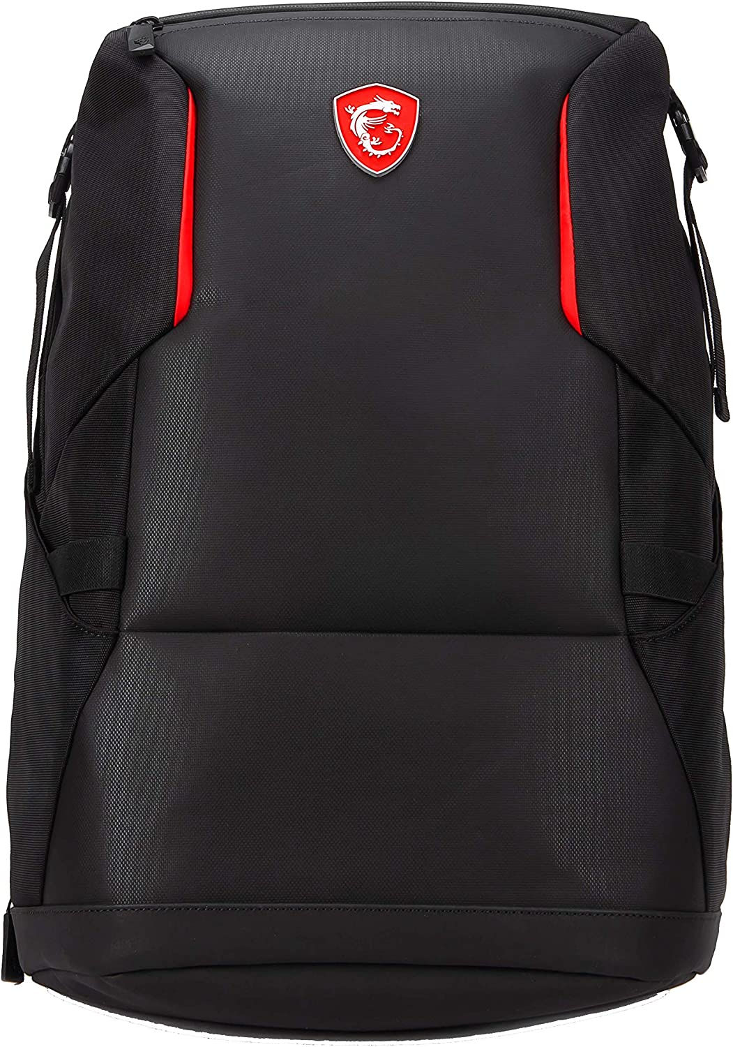 "MSI Urban Raider Gaming Laptop Backpack, Quick Access, Padded Mesh, Lightweight Polyester Exterior, Fits Up to 17"" Laptop, Water Repelent IPX-2, Medium"