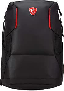"MSI Urban Raider 17"" Backpack Black - Laptop Bags (Backpack, 17"", Shoulder Strap, Black)"