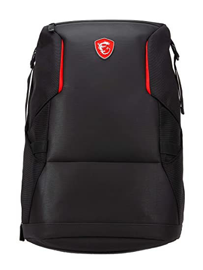 Msi Urban Raider Gaming Laptop Backpack Quick Access Padded Mesh Lightweight Polyester Exterior