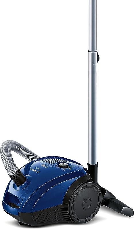 Bosch BGL2UA113 Aspirador con Bolsa GL-20, diseño Compacto, Cepillo Especial para parquet, Color North Cape, 600 W, 3.5 litros, 79 Decibelios, Negro, Azul: Amazon.es: Hogar