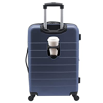 """Wrangler 20"""" Smart Spinner Carry-On Luggage"""