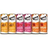 Revive 100 % Natural Premium Milk Shake Dil Hain Hindustani Pack of 12 • 4 cans of Gulkand (with natural rose petals ) , 4 cans of Butter scotch , 4 cans of Kesar (Kashmiri Saffron)