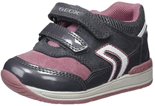 engañar Constituir natural  Geox Baby B Rishon Girl A Low-Top Sneakers, (Dk Grey/Pink C0952), 7 UK  Child: Amazon.in: Shoes & Handbags