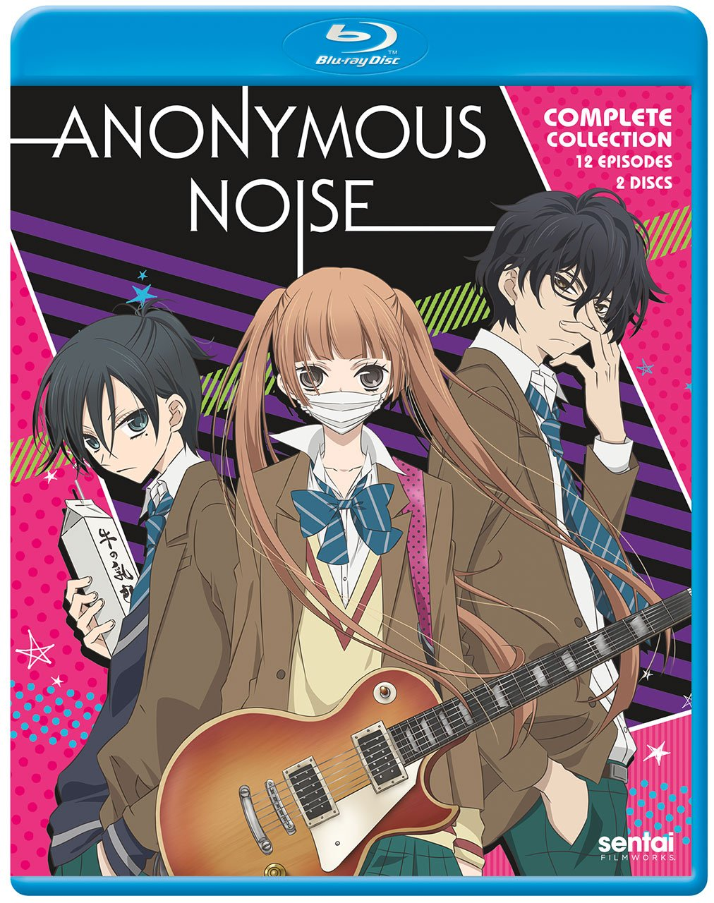 Anonymous Noise Blu-ray (Dual Audio)