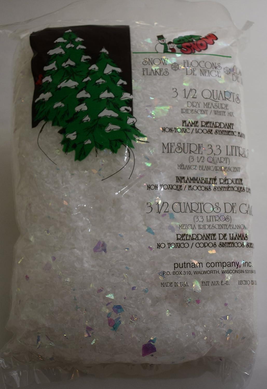 Soft Snow Iridescent Snow Flake Mix Putnam
