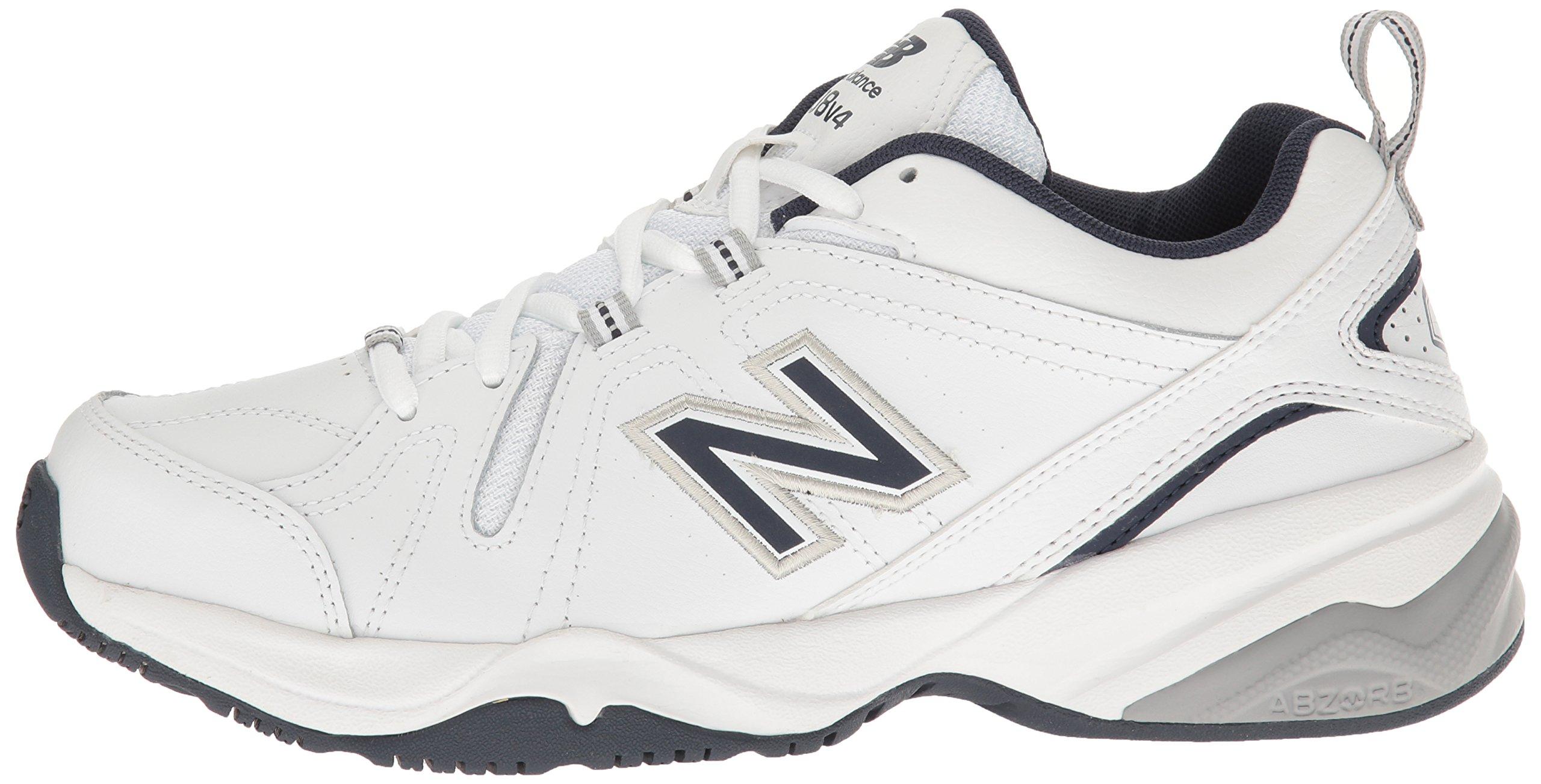 New Balance Men's MX608v4 Training Shoe, White/Navy, 7.5 4E US by New Balance (Image #5)