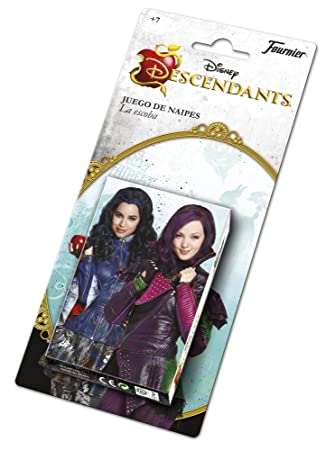 Los Descendientes- Descendants Baraja Infantil con 40 Cartas, (Naipes Heraclio Fournier 1031145)
