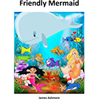 Friendly Mermaid: Grade 1 reading books, Kindergarten, Preschool, Nursery, year, Reading books, 1st graders, Level 1…